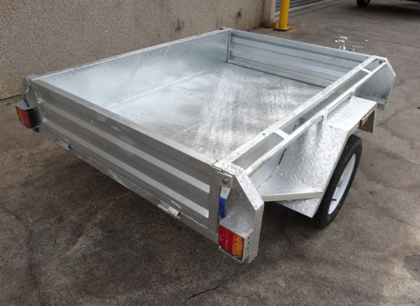 small cargo trailers , small trailers melbourne , tandem axle trailer , tandem tipper trailer
