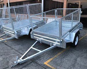 small cargo trailers , small trailers melbourne , tandem axle trailer , tandem tipper trailer