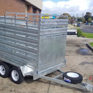 custom trailers melbourne , dual axle trailer , enclosed car trailer , enclosed motorcycle trailer